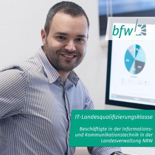 IT-Landesqualifizierungsklasse (Beschäftigte in der Informations- und Kommunikationstechnik in der Landesverwaltung NRW) Image