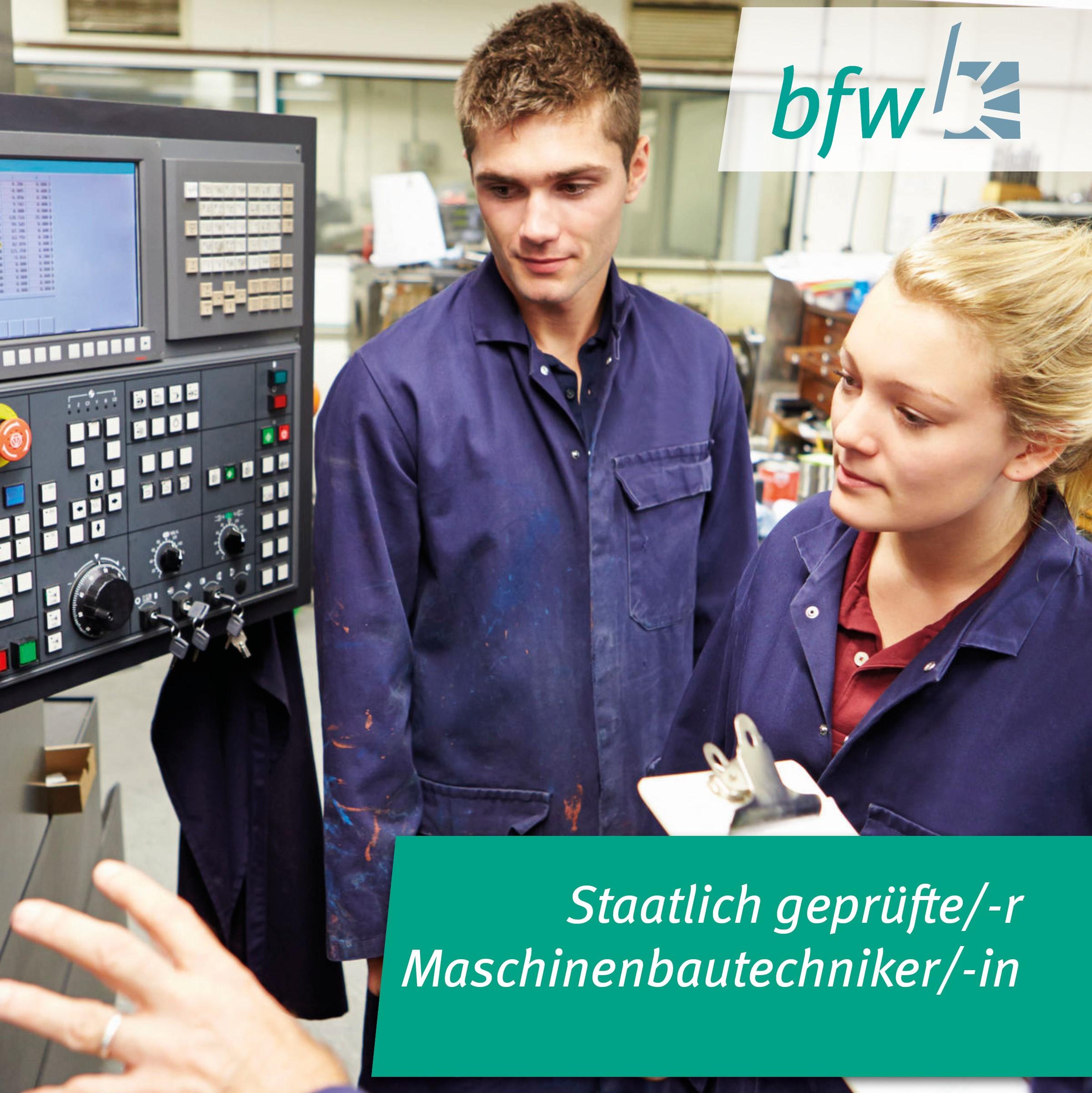 Staatl. geprüfte/-r Maschinenbautechniker/-in Image